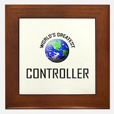 World's Greatest CONTROLLER Framed Tile