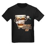 You Can Spoon Me - coffee humor Kids Dark T-Shirt