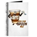 You Can Spoon Me - coffee humor Journal