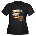 You Can Spoon Me - coffee humor Women's Plus Size