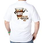 You Can Spoon Me - coffee humor Golf Shirt