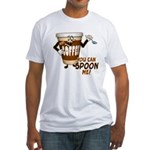 You Can Spoon Me - coffee humor Fitted T-Shirt