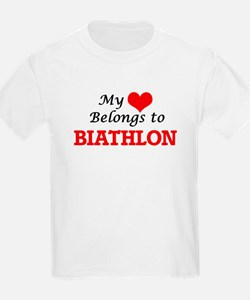 My heart belongs to Biathlon T-Shirt