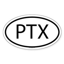PTX Oval Decal