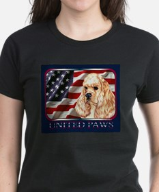 Cocker Spaniel United Paws Ash Grey T-Shirt