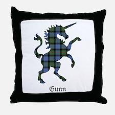 Unicorn - Gunn Throw Pillow