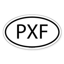 PXF Oval Decal
