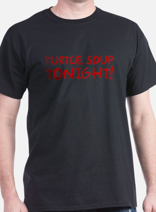 Turtle Soup Tonight Shelby Swamp Man T-Shirt