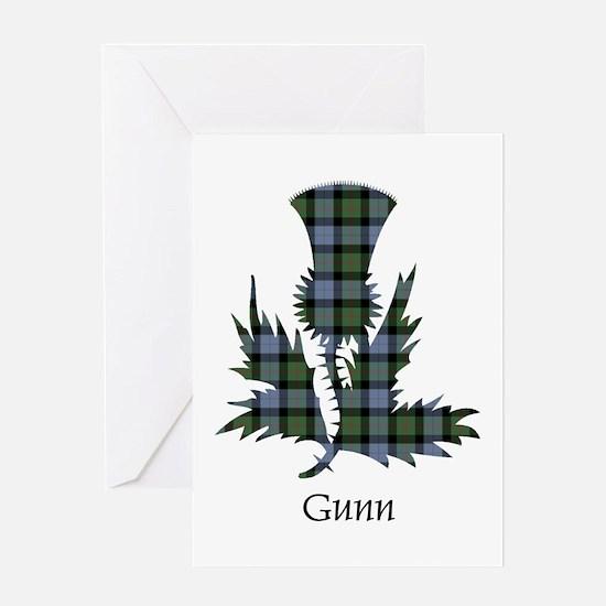 Thistle - Gunn Greeting Card
