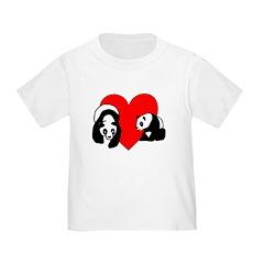 Panda Bear Love T