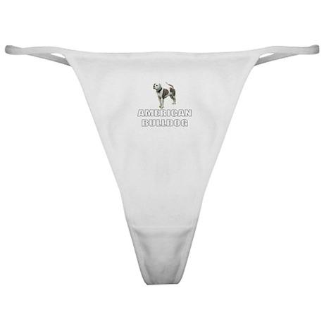 American Bulldog Classic Thong