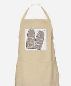 The Ten Commandments BBQ Apron