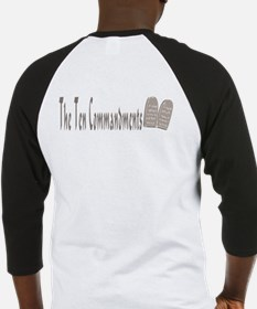 The Ten Commandments Baseball Jersey