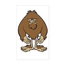 Skuzzo Bigfoot Rectangle Decal
