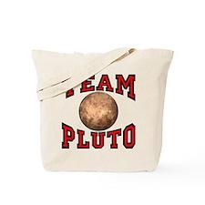 Team Pluto Tote Bag