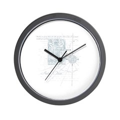 Indian Ocean Wall Clock