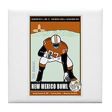 New Mexico Bowl 2007 Tile Coaster