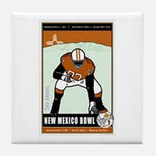 New Mexico Bowl 2007 Tile Coaster