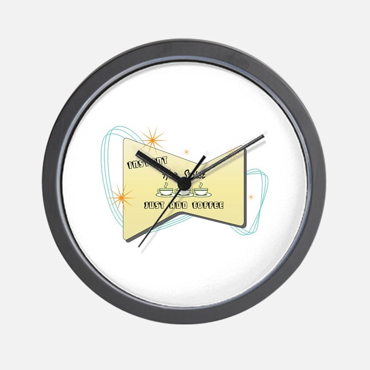 Instant Hair Stylist Wall Clock