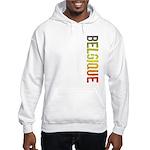 Belgique Stamp Hooded Sweatshirt