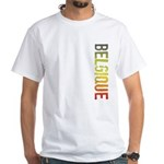 Belgique Stamp White T-Shirt