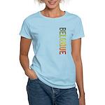 Belgique Stamp Women's Light T-Shirt