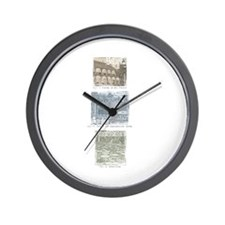 Pamplemousse Wall Clock