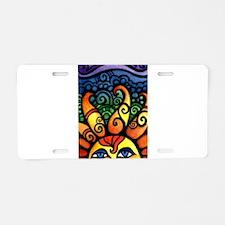 Rising Sun Aluminum License Plate