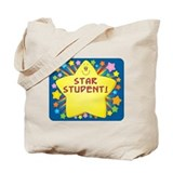 Star student Canvas Totes