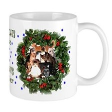 HOUSECATS MAKE HOLIDAYS HAPPIER! Mug