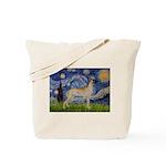 Starry / Gr Dane (f) Tote Bag