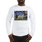 Starry / Gr Dane (f) Long Sleeve T-Shirt