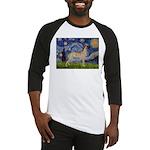 Starry / Gr Dane (f) Baseball Jersey