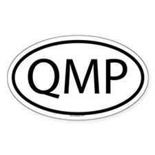 QMP Oval Decal