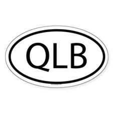 QLB Oval Decal