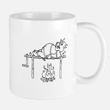 Pig Roast Cartoon Mugs