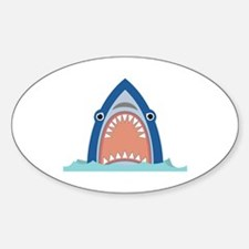 Shark Face Decal