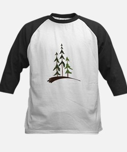 Forest Trees Baseball Jersey
