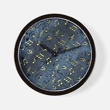 Unique Key signature Wall Clock