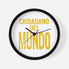 Ciudadano del Mundo Wall Clock