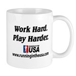 RUSA - Work Hard. Play Harder Mug