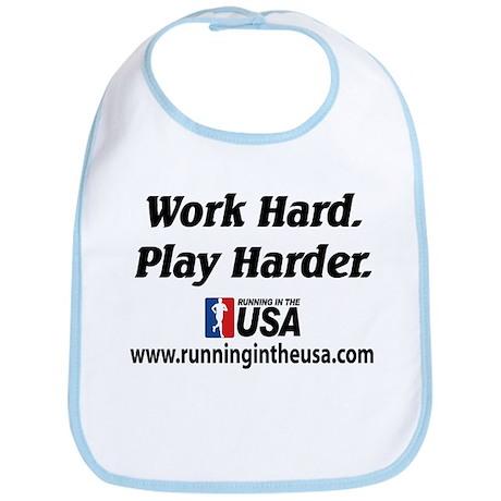 RUSA - Work Hard. Play Harder Bib