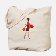 Elegant Lady Tote Bag