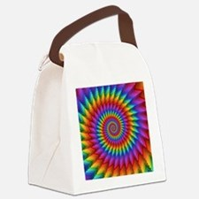 Cute Psychedelic Canvas Lunch Bag