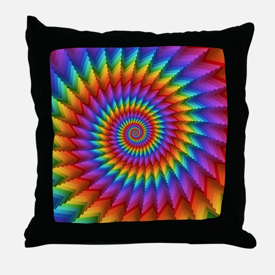 Cute Psychedelic Throw Pillow