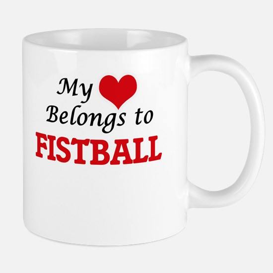 My heart belongs to Fistball Mugs