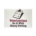 Funny Veterinary Veterinarian Rectangle Magnet (10