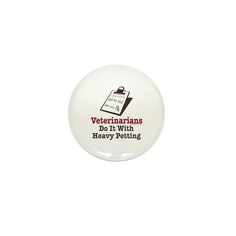 Funny Veterinary Veterinarian Mini Button (100 pac