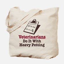Funny Veterinary Veterinarian Tote Bag