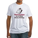 Funny Veterinary Veterinarian Fitted T-Shirt